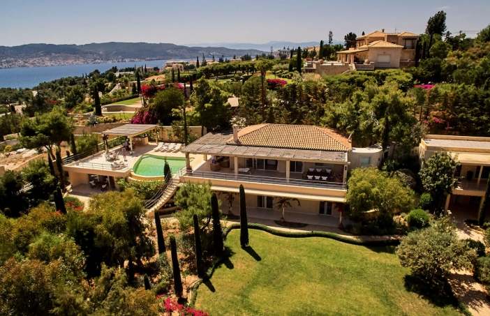 Porto Heli Luxury Villas Seascape